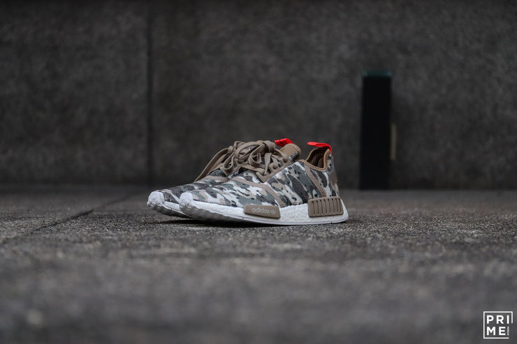 Adidas NMD R1 NYC Clear Brown / Clear