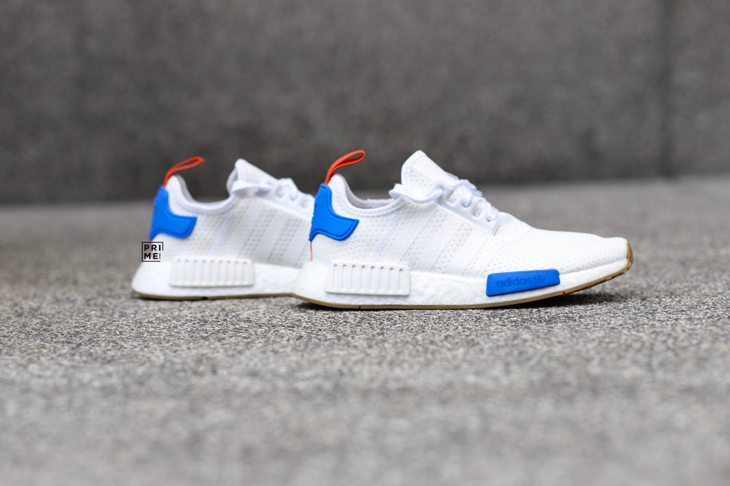 Adidas NMD R1 White Blue Gum (BB9498)