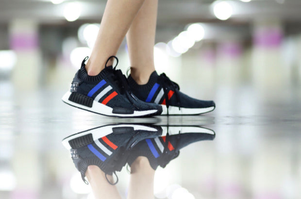 ADIDAS NMD R1 PK Tri Color/Black (BB2887)