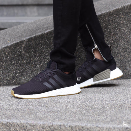ADIDAS NMD R2 Core black/Khaki (BY9917)