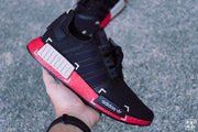 Adidas NMD R1 Core Black / Metal Grey / Scarlet (FV3907)