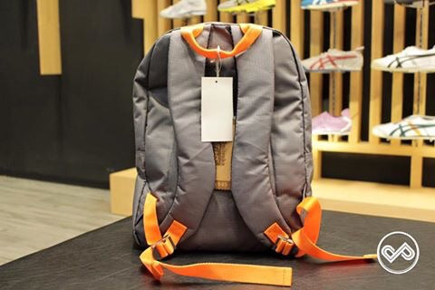 Onitsuka Tiger Backpack  Grey-Orange