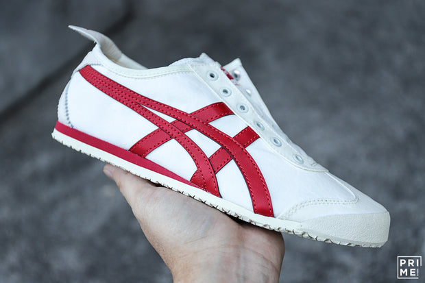 Onitsuka Tiger Mexico66 Slip on Cream/Red (D3K0Q-0023)