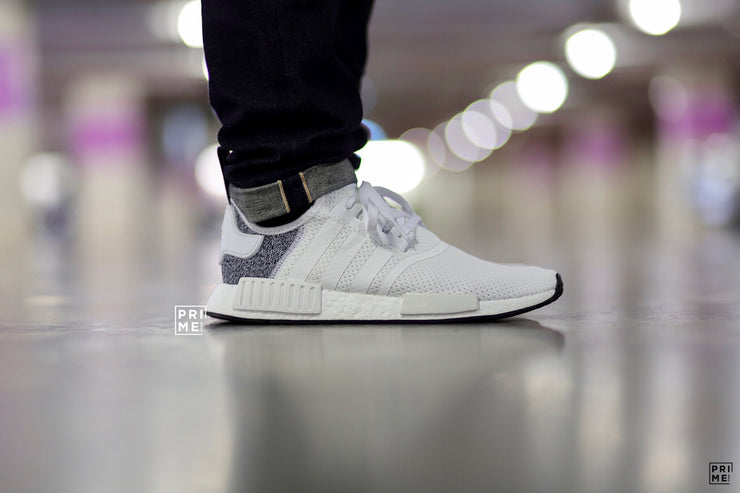 Adidas NMD R1 White/Grey (B41795)
