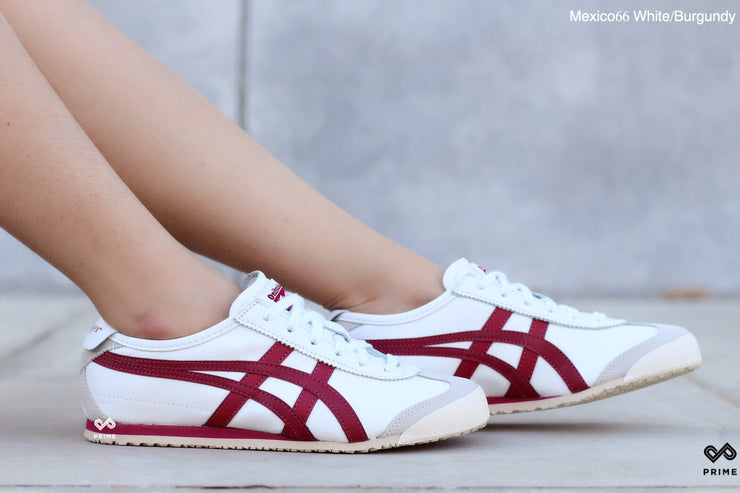 Onitsuka Tiger  Mexico66 White/Burgundy (D4J2L-0125)