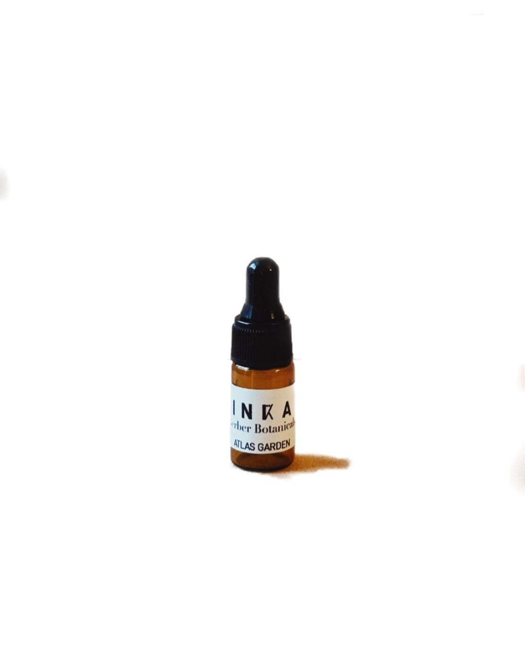 Amber sample bottle of the Atlas garden night oil
