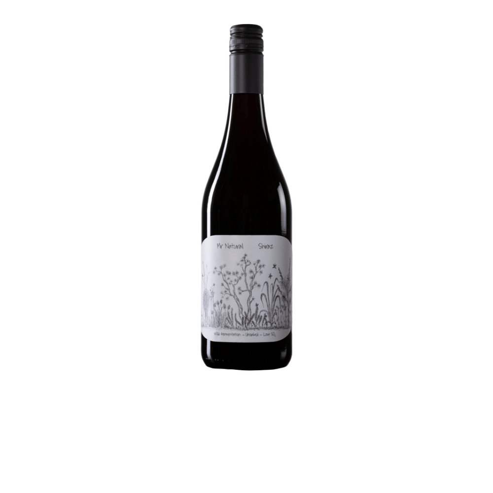2019 Mr Natural Shiraz with free shipping
