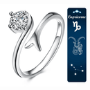 Spurzo.fr - Bague Passion Zodiaque Ajustable - Capricorne