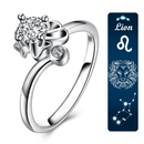 Spurzo.fr - Bague Passion Zodiaque Ajustable - Lion