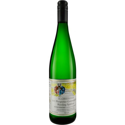 2018 St. Christopher Piesporter Goldtropfchen Riesling Spatlese, Mosel, Germany