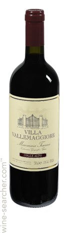 Colle Alto, 2016 Igt Tuscan Blend  by Villa Vallemaggiore