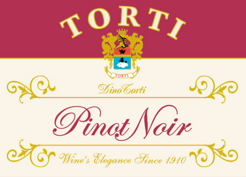 Pinot Noir 2018 by Torti in Lombardia, 91 pts JS