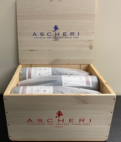 Barolo, 2015 Pisapola by Ascheri,   6  In Wooden Box.