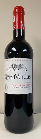 "Bordeaux Superieur, 2018 by ""Chateau Le Grand Verdus"""