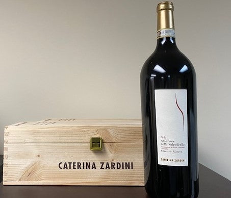 Amarone 2015 DOC Caterina Zardini Magnum, in wooden Box