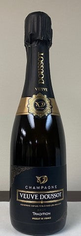 Veuve Doussot Champagne  Selection Brut, 375 ML