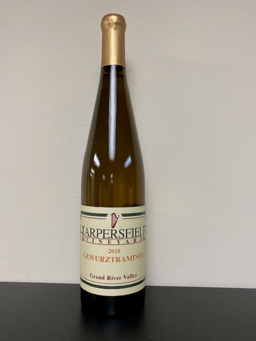 Gewurztraminer, 2018 Grand River Valley , Harpersfield