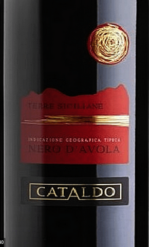 Nero d' Avola 2017 IGT, by Cataldo