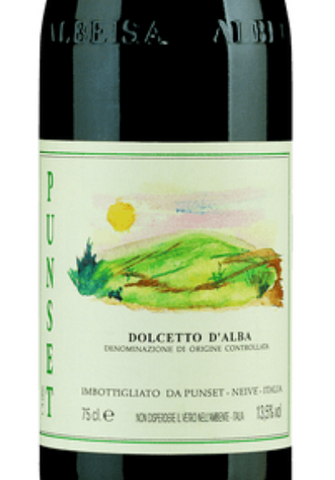 Dolcetto d'Alba  2017 BY Punset