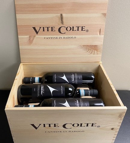 Nebbiolo , 2017, Valdolmo by  Vite Colte, 6 In Wooden Box