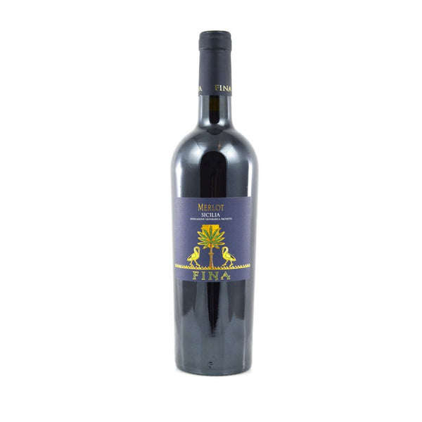 Merlot, 2017 by Fina Winery in Western Sicily