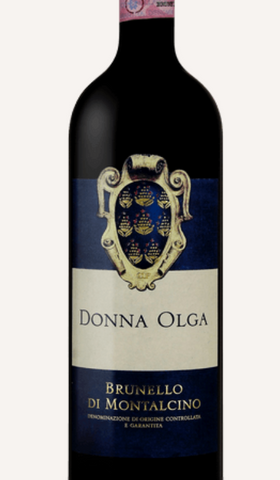 Brunello di Montalcino, 2012  Donna Olga, 94 Points JS
