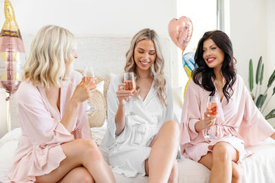 Shop the most beautiful wedding robes for you and your bride tribe today