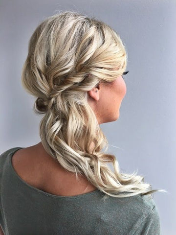 bridesmaid side hair styles