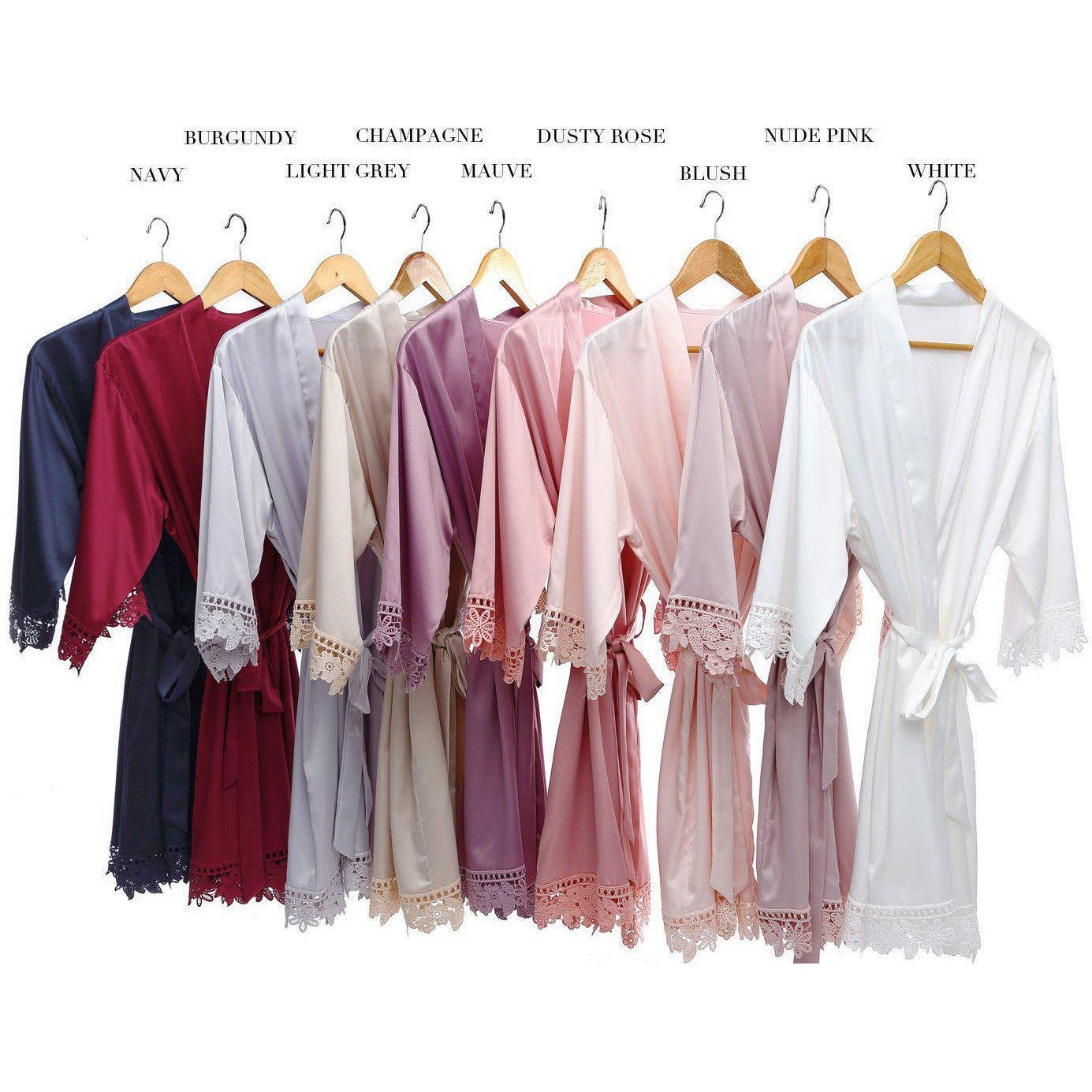 Bridesmaid Getting Ready Robes Bridesmaid Dressing Gowns Australia Bride Tribes