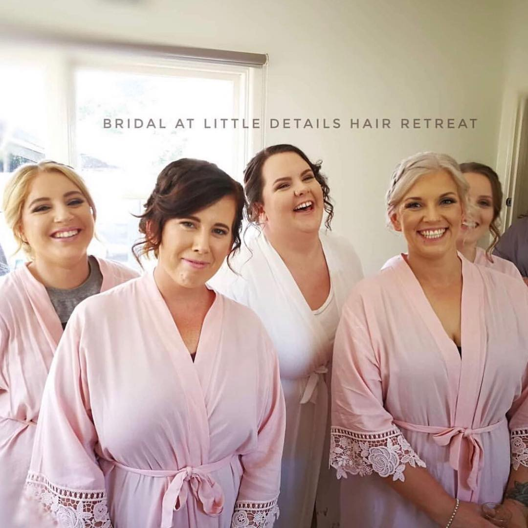 Daisy Cotton Bridesmaid Robes