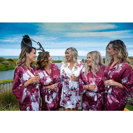 Blossom Floral Bridesmaid Robes