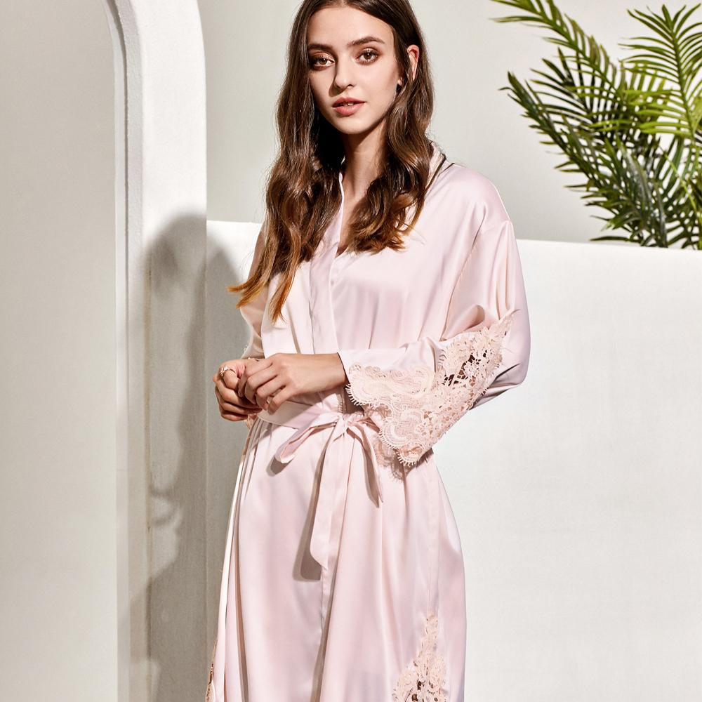 Paris Satin Robe