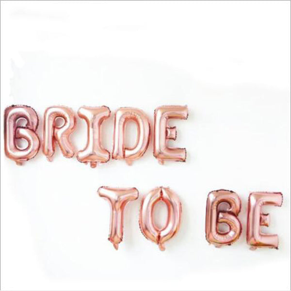 BRIDE TO BE BALLOONS - Bride Tribes