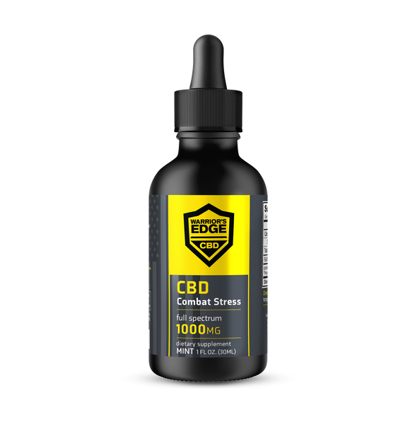 1000mg Full Spectrum CBD Tincture, 1oz.,  Mint