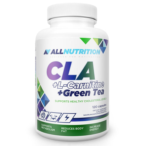 CLA + L-CARNITINE + GREEN TEA 120 caps Allnutrition - Predators Gear