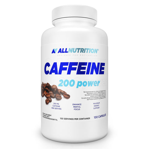 Caffeine Allnutrition 100 caps - Predators Gear