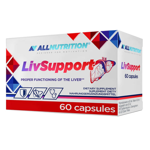 LIVSUPPORT 60 caps Allnutrition - Predators Gear