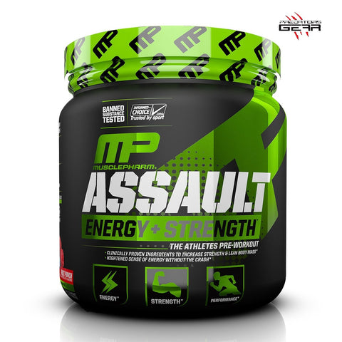 MusclePharm Assault 30 servings - Predators Gear