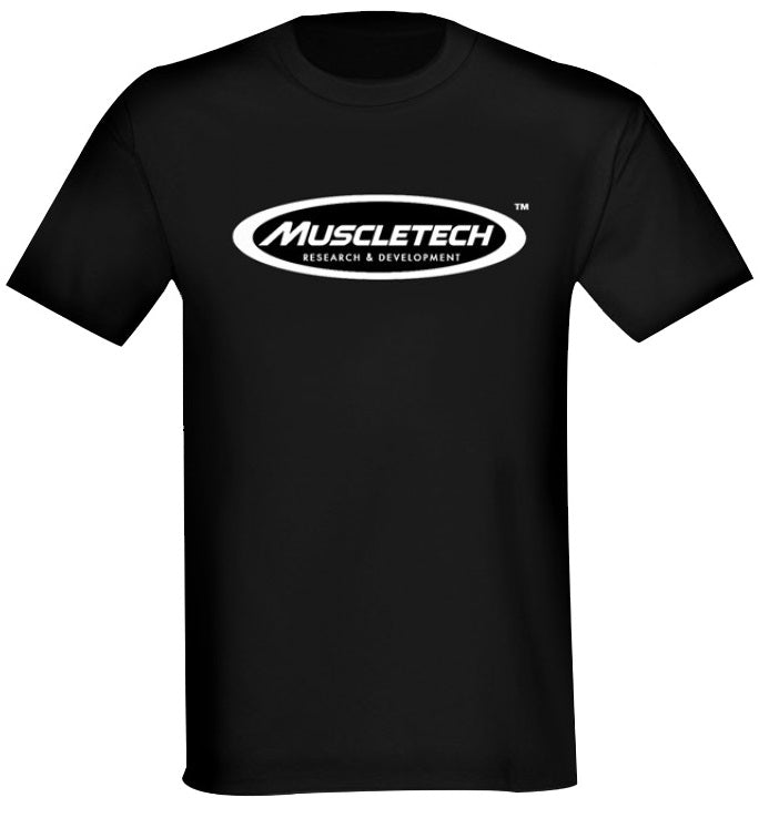 Muscletech Short Sleeve T-shirt Black