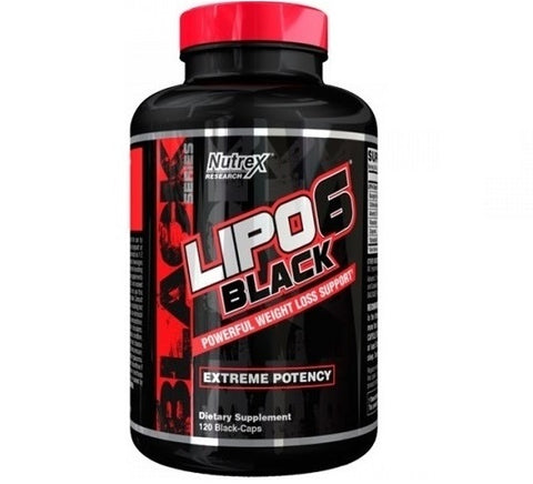 Lipo6 Black Extreme Potency 120 caps - Predators Gear