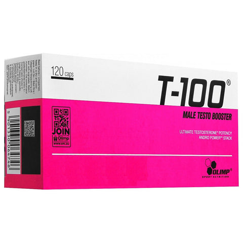 Olimp T-100 Male Testo Booster 120 caps - Predators Gear
