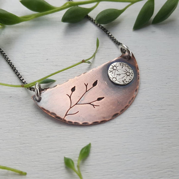 Spring Equinox / Full Moon Necklace