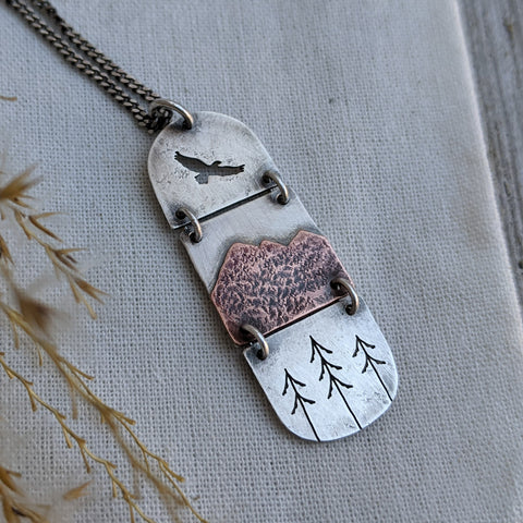 Scenic Route - Mountain Necklace