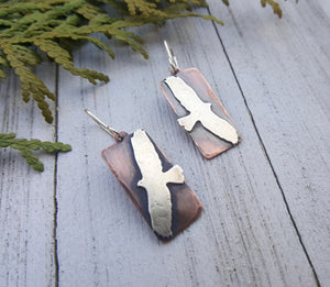 Hawk's Flight Earrings