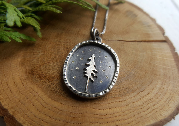 Night Pine Necklace