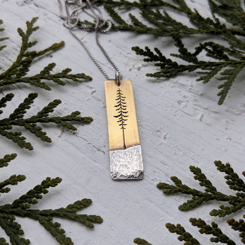 Custom Tall Spruce necklace