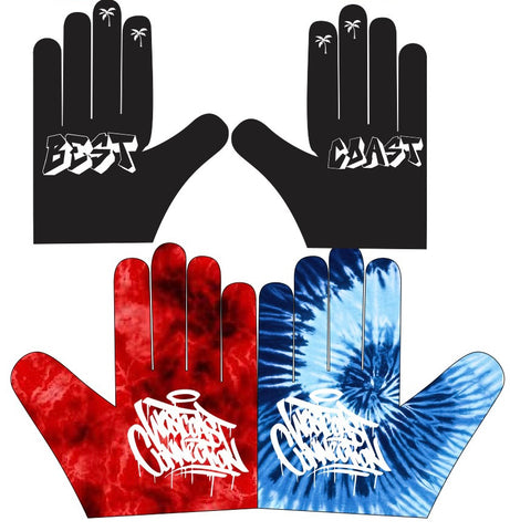 Tie Dye Gloves - Limited Edition