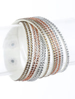 White Studded Wrap Bracelet