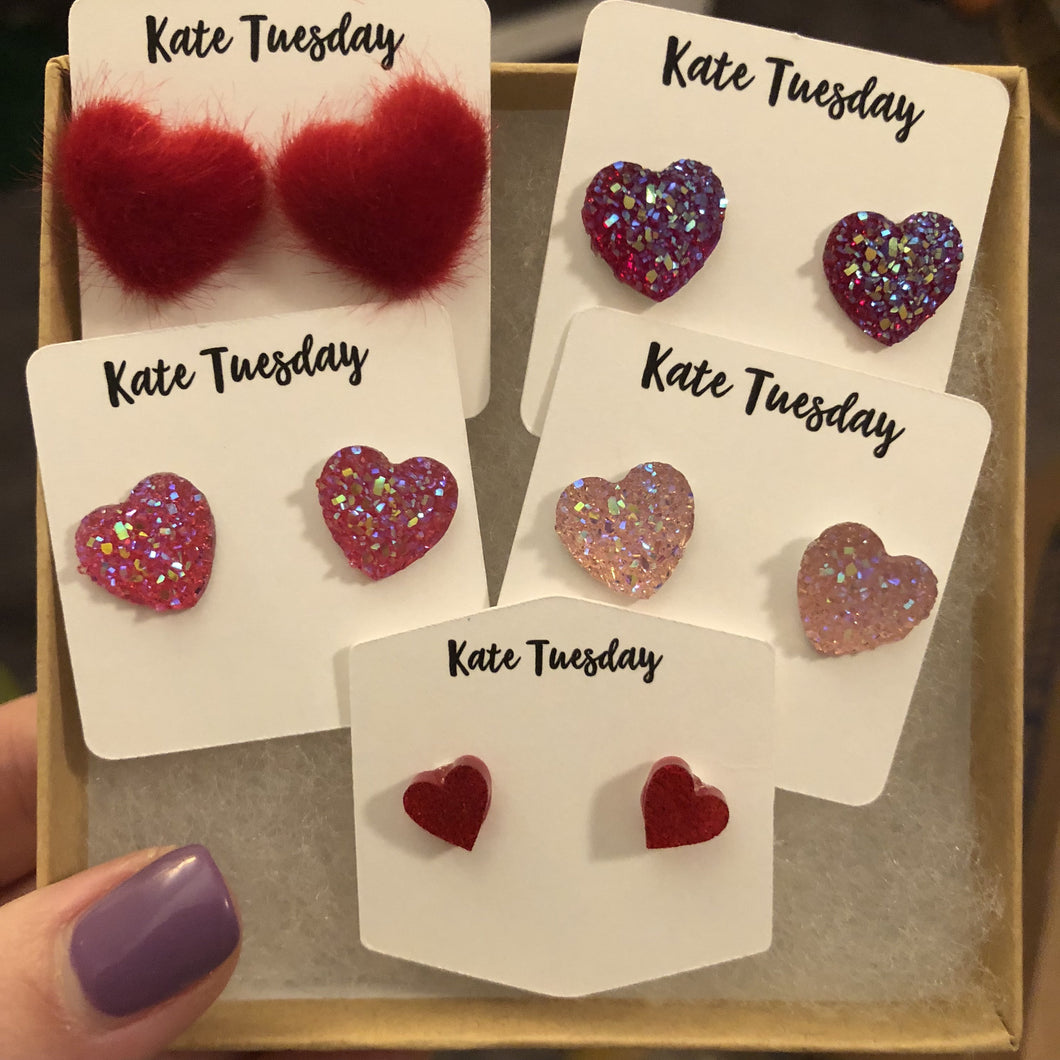 Most Popular Valentines Day Heart Earring Box