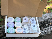 Load image into Gallery viewer, Shower Steamer/Bath Tea Assortment Box